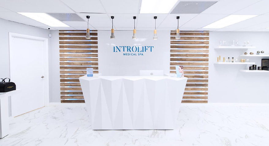 Front Desk at Introlift