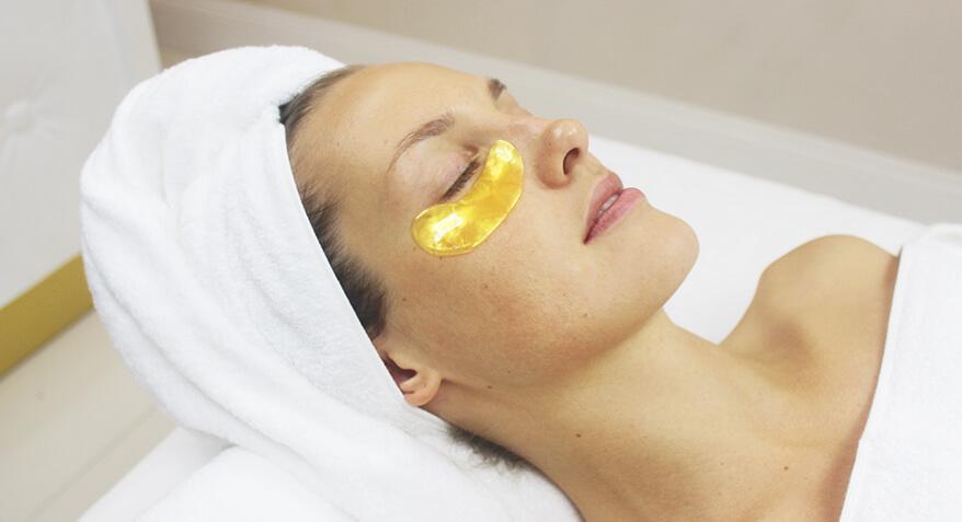 Gold facial treatment image 1