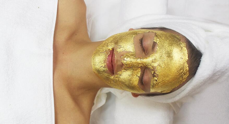 Gold facial treatment image 3