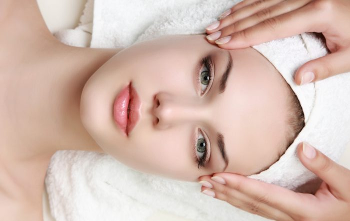 Woman with thin skin around eyes