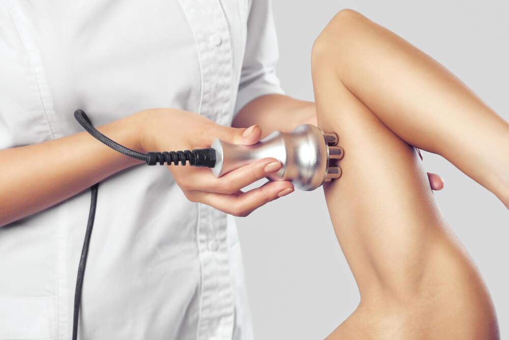 RF treatment on arm