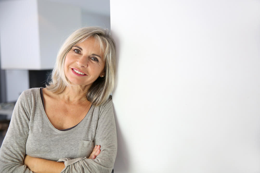 Woman in her 50s