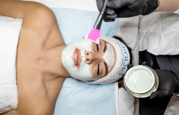 Patient Receiving Collagen Regeneration Facial